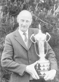 Bill with a trophy