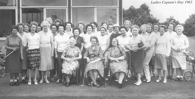 Ladies Captain's Day 1963